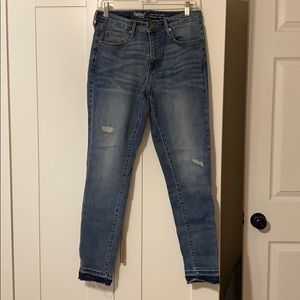 Mossimo high rise skinny jean size 29